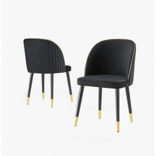 KOD NO : SAN-199 Sandalye  - Siyah/Siyah