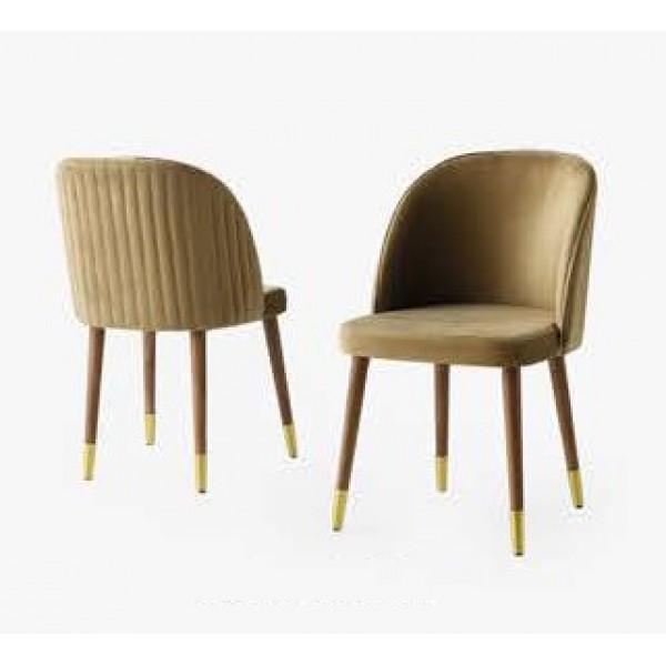 KOD NO : SAN-208 Sandalye  - Kahve/Ceviz