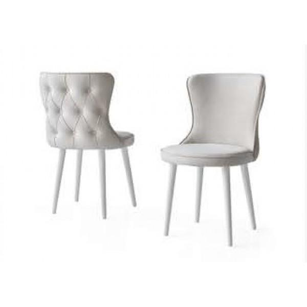 KOD NO : SAN-281 Sandalye - Krem/Aytaşı