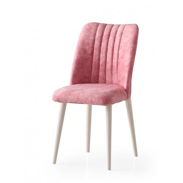 KOD NO : SAN-674 (PEMBE/EKRU) Sandalye