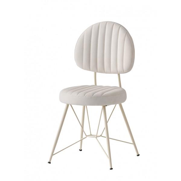 KOD NO : SAN-677 (EKRU/KREM DERİ) Sandalye