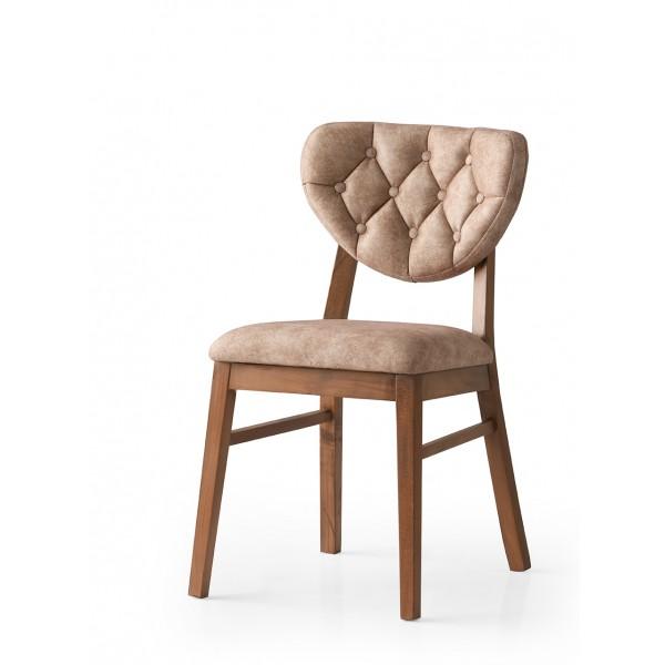 KOD NO : SAN-691 (KAHVE/CEVİZ) Sandalye