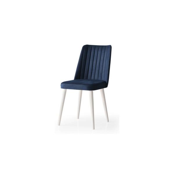 KOD NO : SAN-706 (EKRU/MAVİ) Sandalye