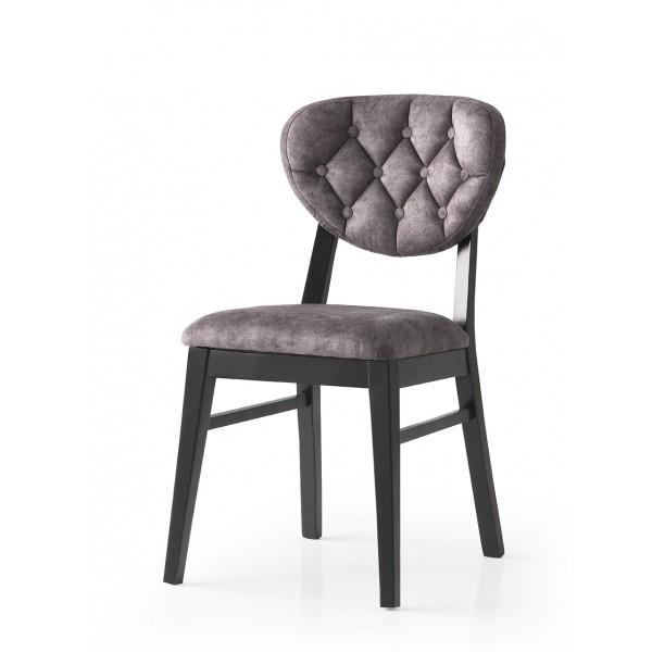 KOD NO : SAN-709 (GRİ/SİYAH) Sandalye