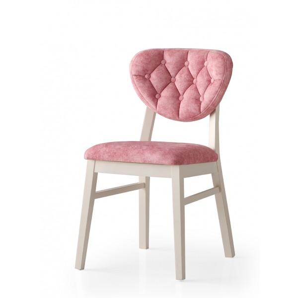 KOD NO : SAN-710 (PEMBE/EKRU) Sandalye