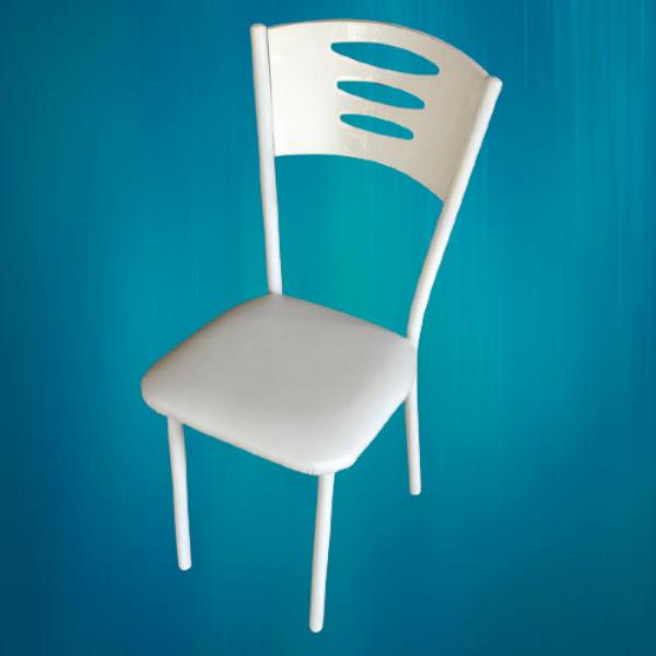 KOD NO : SAN-715 Sandalye - Beyaz (Beyaz ayak)