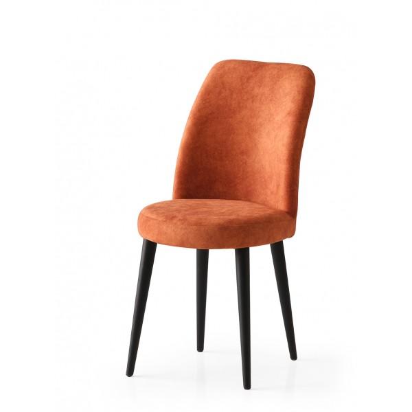 KOD NO : SAN-717 (TURUNCU/SİYAH) Sandalye