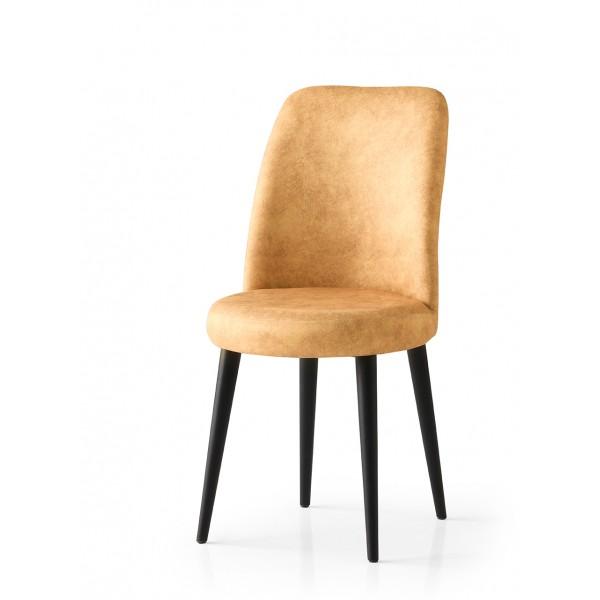 KOD NO : SAN-718 (SARI/SİYAH) Sandalye