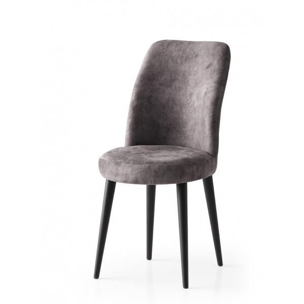 KOD NO : SAN-719 (GRİ/SİYAH) Sandalye