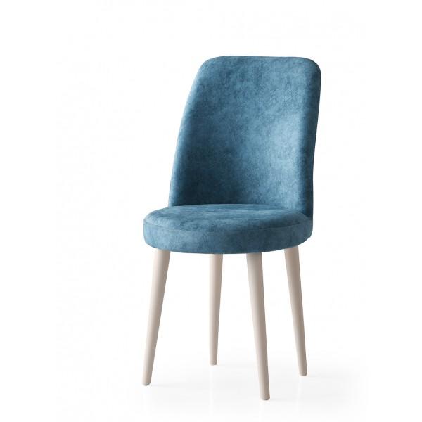 KOD NO : SAN-721 (TURKUAZ/EKRU) Sandalye