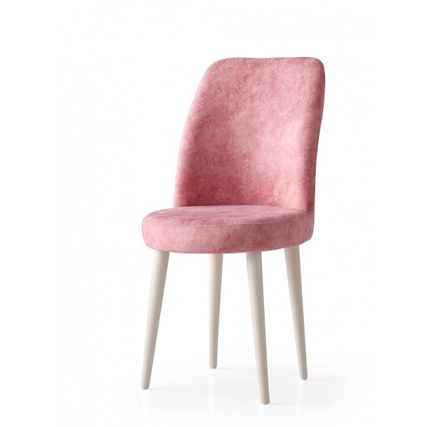 KOD NO : SAN-722 (PEMBE/EKRU) Sandalye