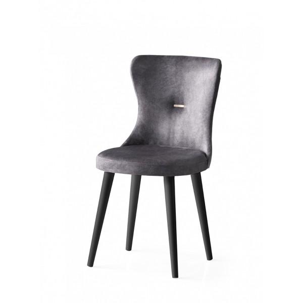 KOD NO  : SAN-726 (GRİ/SİYAH) Sandalye