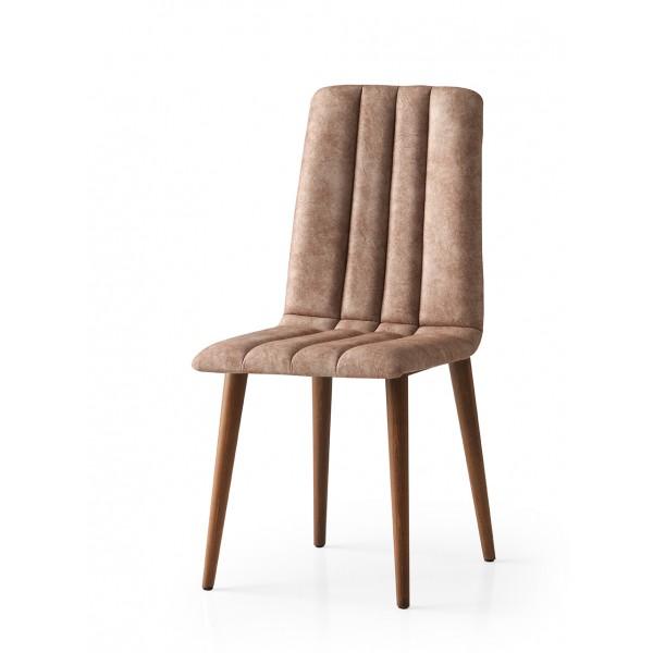 KOD NO : SAN-798 (KAHVE/CEVİZ) Sandalye