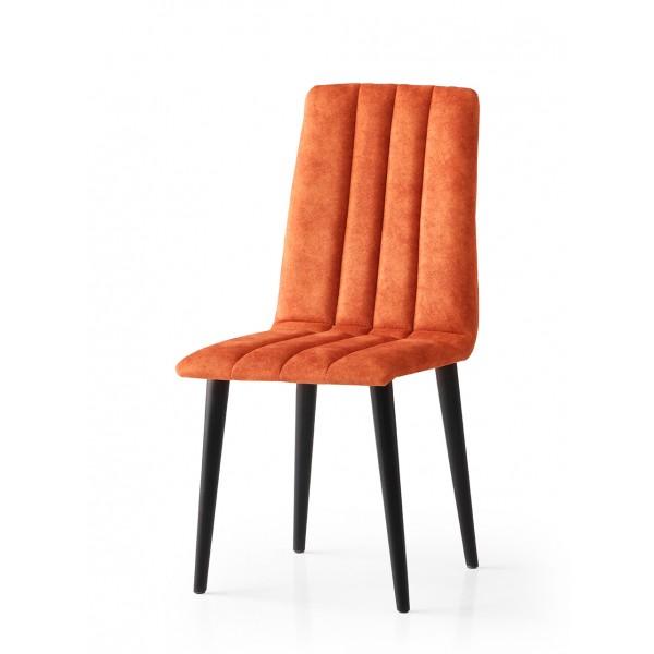 KOD NO : SAN-799 (TURUNCU/SİYAH) Sandalye