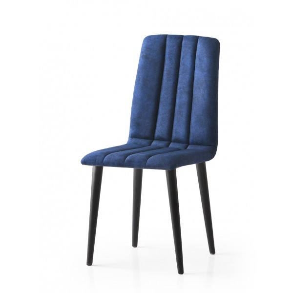 KOD NO : SAN-801 (MAVİ/SİYAH) Sandalye