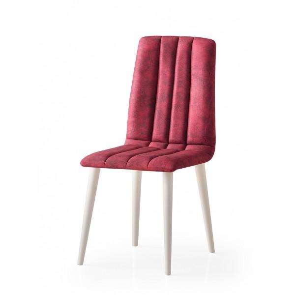 KOD NO : SAN-802 (BORDO/EKRU) Sandalye