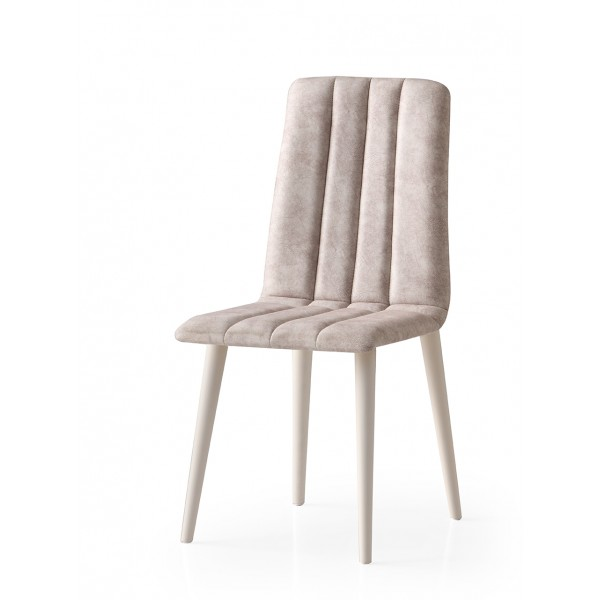 KOD NO : SAN-803 (KREM/EKRU) Sandalye