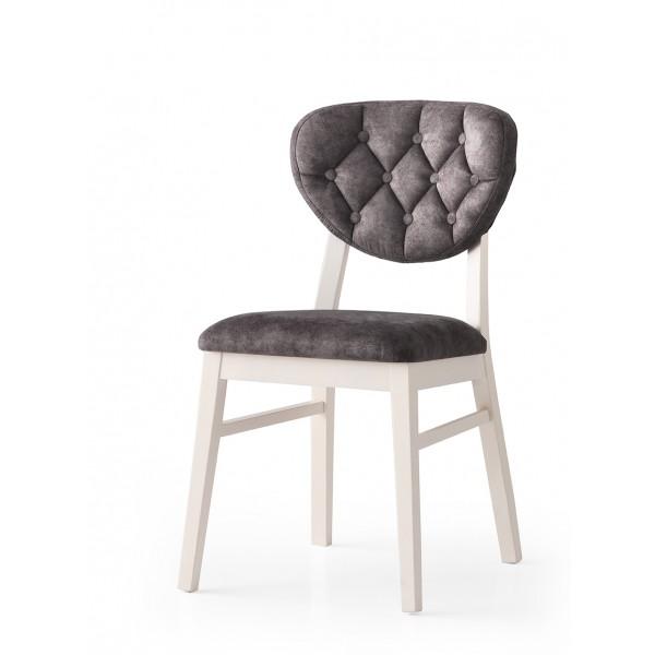 KOD NO : SAN-818 (GRİ/EKRU) Sandalye