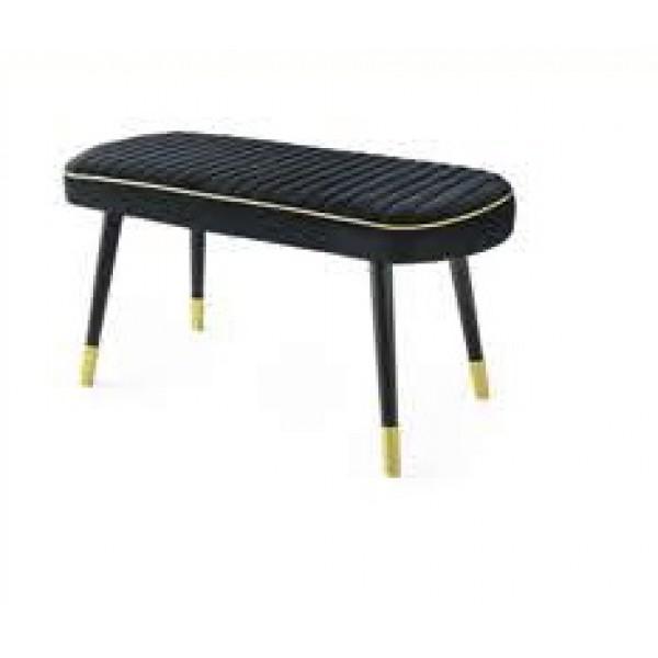 KOD NO : SAN-844 Bench - Siyah/Siyah 120 cm.