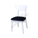 KOD NO : SAN-854 Sandalye - Siyah / Beyaz