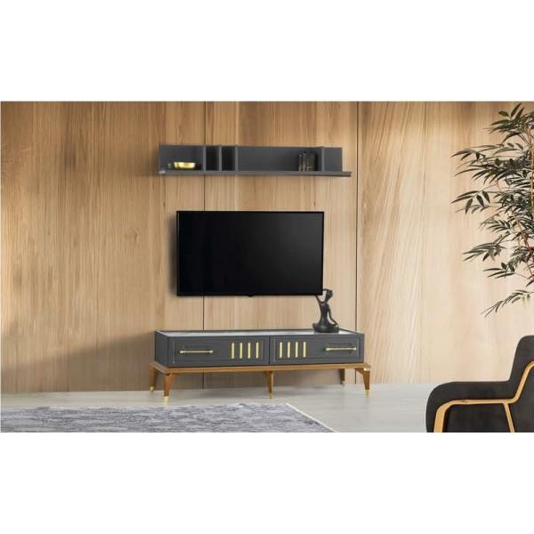 KOD NO : TV-231 + TV-232 Tv Sehpası - Lake Gri