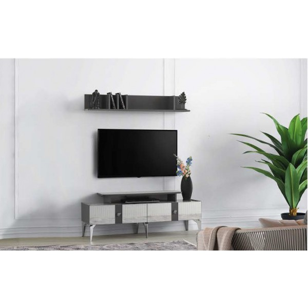 KOD NO : TV-235 + TV-236 Tv Sehpası - Lake Gri