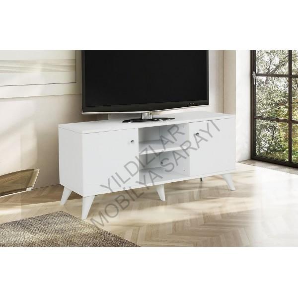 KOD NO : TV-408 TV Sehpası - Beyaz