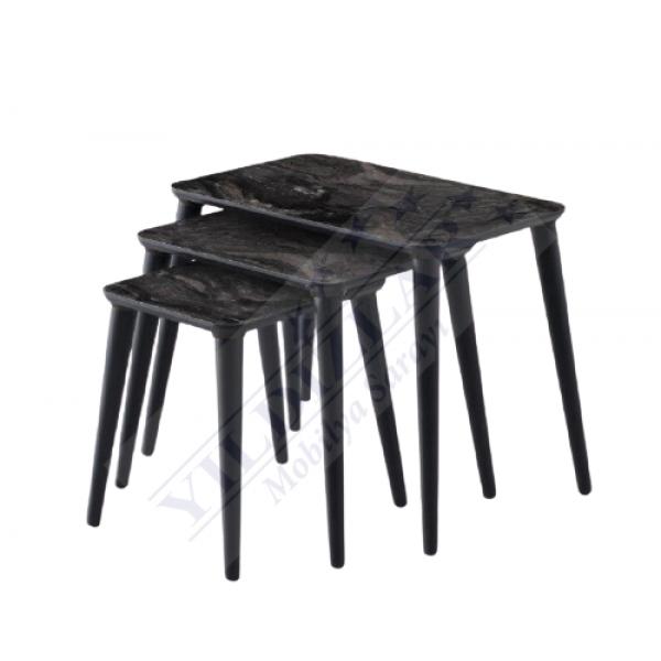 KOD NO : ZGN-487 Siyah Mermer Desen Zigon