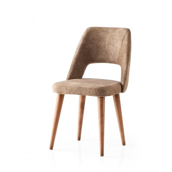 KOD NO : SAN-684 (KAHVE/CEVİZ) Sandalye