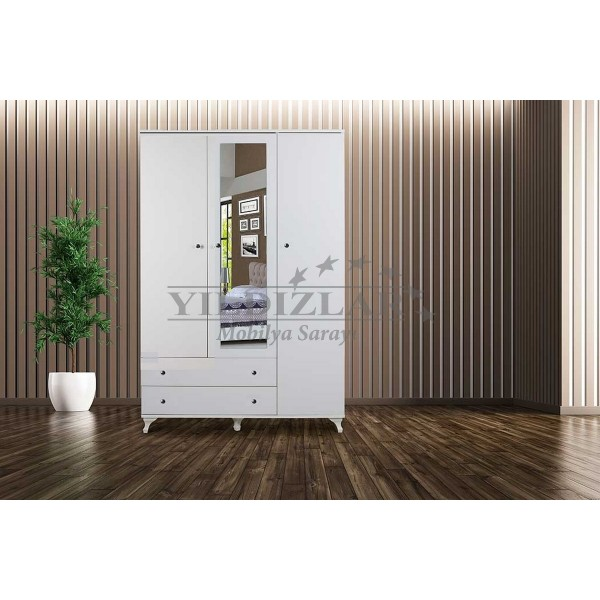 KOD NO :  DLP-270 (DEMONTE) DOLAP 120 Cm - Beyaz