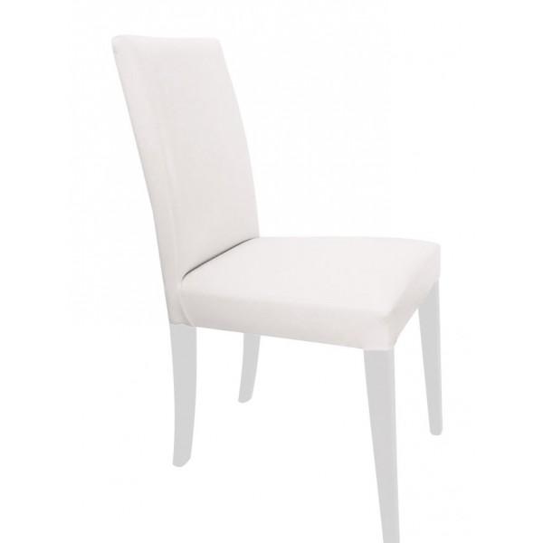 KOD NO:SAN-037 (BEYAZ DERİ) Sandalye