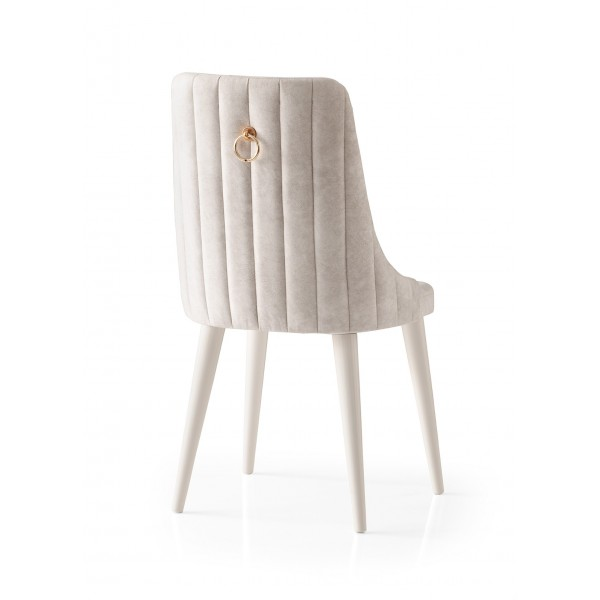 KOD NO : SAN-151 (KREM/EKRU) Sandalye