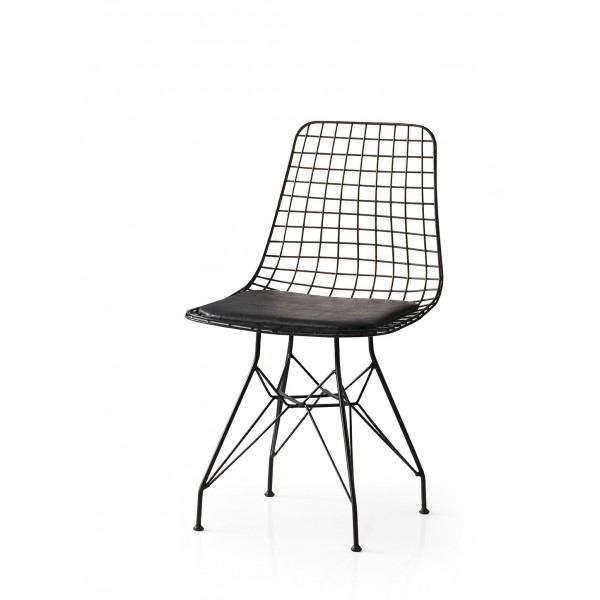 KOD NO : SAN-438 (SİYAH) Sandalye