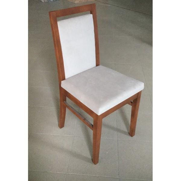 KOD NO : SAN-501 (KUMAŞ) (CEVİZ) Sandalye