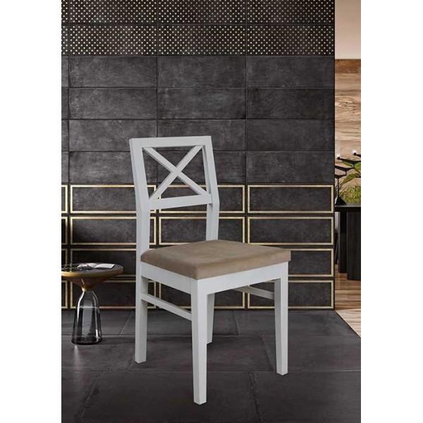KOD NO : SAN-534 (GRİ/BEYAZ) Sandalye