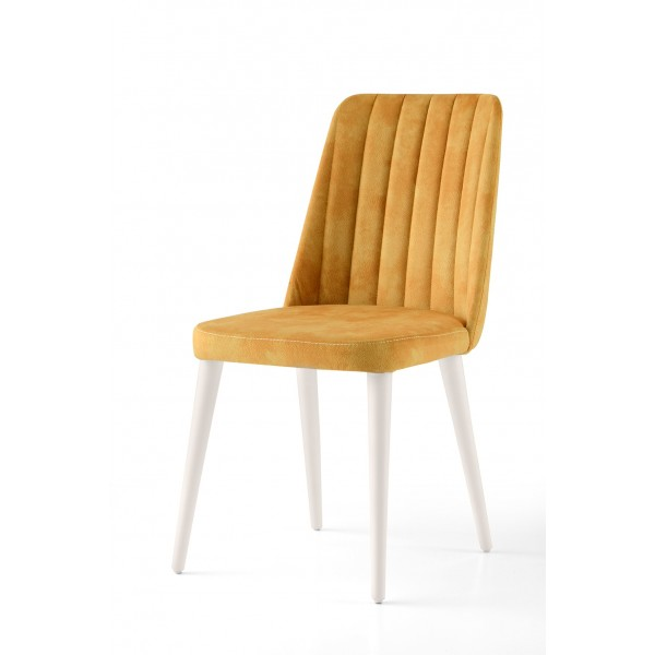 KOD NO : SAN-595 (SARI/EKRU) Sandalye