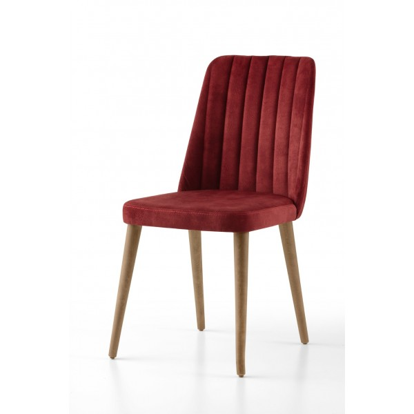 KOD NO : SAN-599 (BORDO/CEVİZ) Sandalye