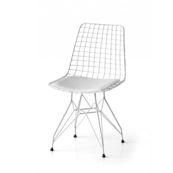 KOD NO : SAN-609 (BEYAZ) Sandalye