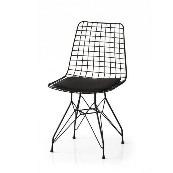 KOD NO : SAN-610 (SİYAH) Sandalye