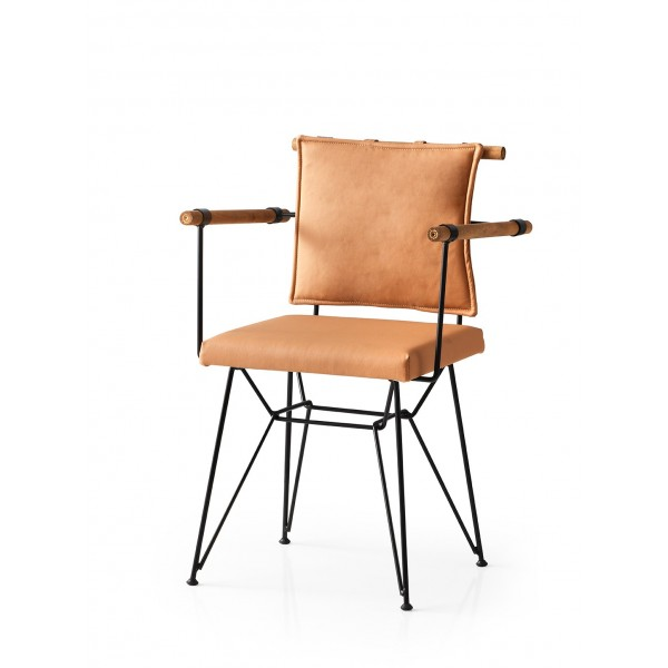KOD NO : SAN-611 (KAHVE) Sandalye