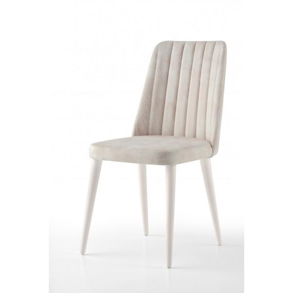KOD NO : SAN-613 (KREM/EKRU) Sandalye