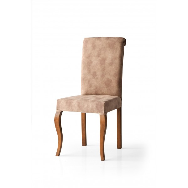 KOD NO : SAN-635 (CEVİZ/KAHVE) Sandalye