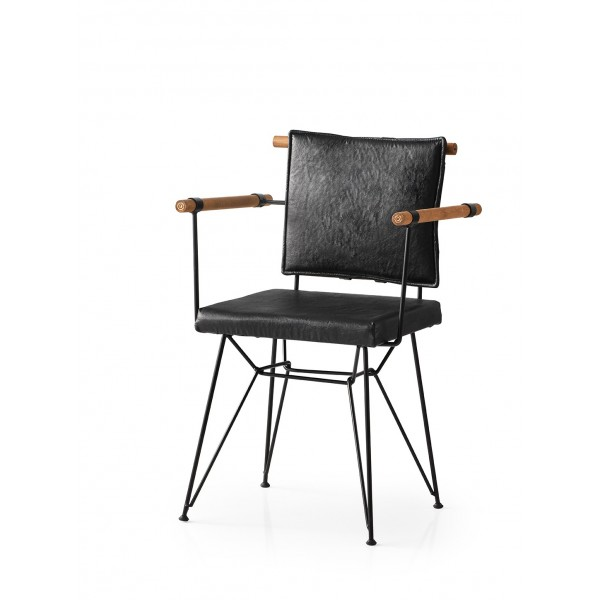 KOD NO : SAN-638 (SİYAH) Sandalye