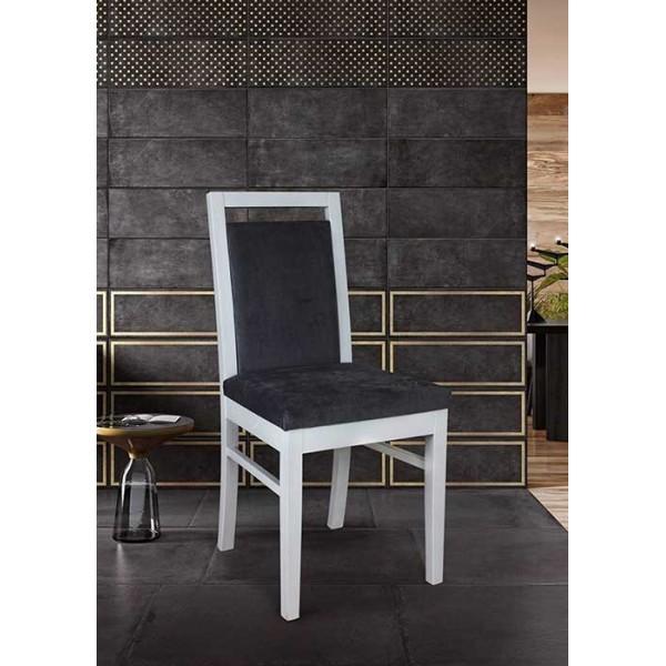 KOD NO : SAN-646 (GRİ/BEYAZ) Sandalye