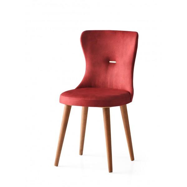 KOD NO : SAN-659 (BORDO/CEVİZ) Sandalye