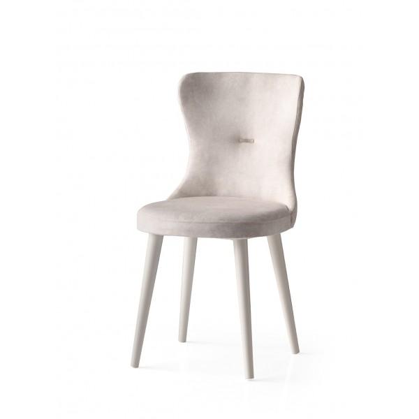 KOD NO : SAN-660 (KREM/EKRU) Sandalye