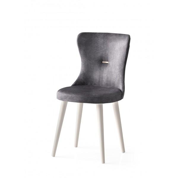 KOD NO : SAN-662 (GRİ/EKRU) Sandalye